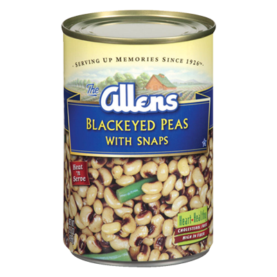Blackeyed Peas With Snaps